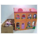 Dora the Explorer doll house w/ accessories