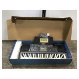 Casio keyboard w/ stand and original box