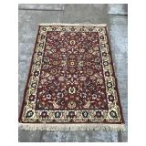 Small oriental area rug - 4 ft. x 6 ft.