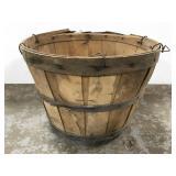 Old half bushel orchard basket