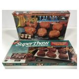 Food thawing trays in original boxes