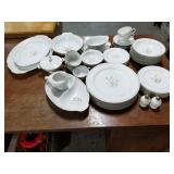 Sango Harvest Gold china set
