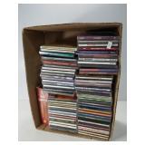 Compact discs box lot