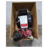 Electric winch with remote