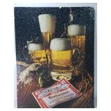 Budweiser puzzle poster