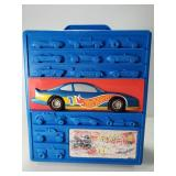 Hot Wheels carry case with 20 cars