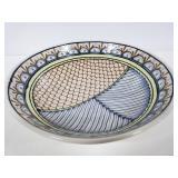 Signed ceramic bowl