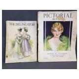 Vintage magazine pair