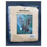 Northpoint polar fleece throw