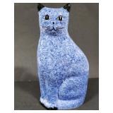 Ceramic cat art