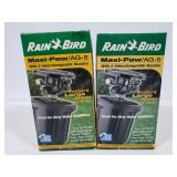 Pair of Rain bird sprinklers
