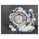 Porcelain clock for repair