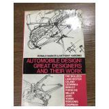 Automobile Design book 1970 by Ronald Barker