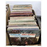 Large box of 140 + vinyl records #2