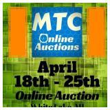 MTC April 18th - 25th Online Auction White Lake, MI