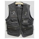 Blue Stone canvas tactical vest w/ flag patch