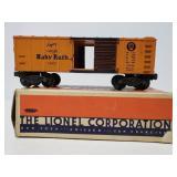 Vintage metal Lionel Baby Ruth train car