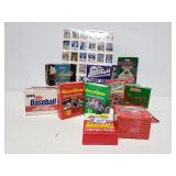 16 packs of specialty baseball trading cards