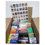 Sealed and unsealed specialty baseball cards