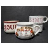 Soup mug collection