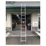 Tall aluminum ladder - 12 foot