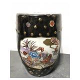 Large ceramic vase pedestal