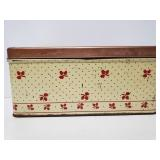 Vintage National Can Co bread box