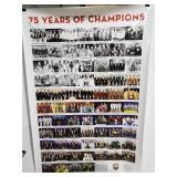 Barbershop quartet champions poster
