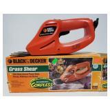 Black & Decker grass shear