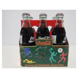 Olympic glass bottle CocaCola 6 pack