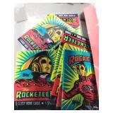 Sealed packs of Rocketeer cards