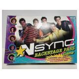 Nsync backstage pass game