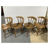 Vintage dining chair set