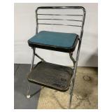 Retro chrome step stool