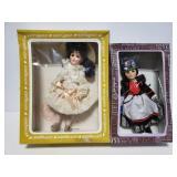 Vintage doll pair