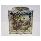 Vintage ornate tin