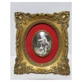 Cameo creation baby photo and frame