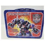 Metal Transformers lunch box