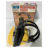 Vintage electro brand radio headphones