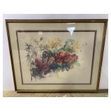Chi Ebert floral watercolor painting