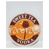 Firefly Sweet Tea Vodka metal sign