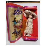 Old fashion doll in box