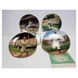 Baseball plate collection