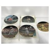 MLB baseball collectors plates