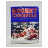 Hockey chronicle book