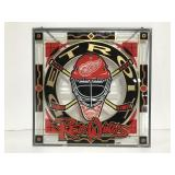 Detroit Red Wings faux stained glass memorabilia