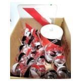 44pc H.J. stotter plastic ware w/ icebucket & tray