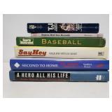 Baseball book collection