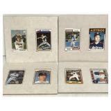 Hamilton Coll. Nolan Ryan porcelain baseball cards