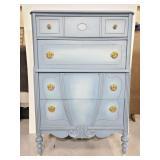 Painted 4 drawer Cinderella dresser
